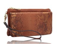 Cross body and wallet with wristlet and shoulder strap, sold in pack of 2pcs