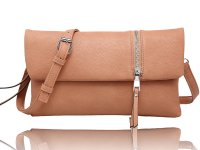 WRISTLET/CROSS BODY WITH A VERTICAL ZIPPER